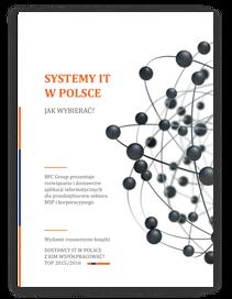 Książka Bpc Group pt. <p><strong>BPC Group prezentuje rozwiązana i dostawców aplikacji informatycznych dla przedsiębiorstw sektora MSP i korporacyjnego.</strong></p>  <p>Publikacja stanowi kompendium wiedzy na temat funkcjonowania dostawców IT na rynku polskim. Zawiera rekomendacje wybranych firm wdrożeniowych, które oferują systemy klasy ERP.</p>  <p>Konsultanci BPC Group przeanalizowali m.in.:</p>  <ul> <li>opinie użytkowników systemów na temat współpracy z danym dostawcą;</li> <li>ilość i rodzaj autorskich aplikacji, które znajdują się w ofercie dostawcy, a wzbogacają system o dodatkowe funkcjonalności;</li> <li>doświadczenie dostawcy na rynku i zasoby kompetencyjne konieczne do przeprowadzenia wdrożeń.</li> </ul>  <p>Publikacja zawiera również praktyczne porady i informacje, które przydadzą się w procesach wyboru systemu, w tym spis głównych błędów popełnianych przez przedsiębiorców na etapie prowadzenia rozmów z dostawcami rozwiązań.</p>