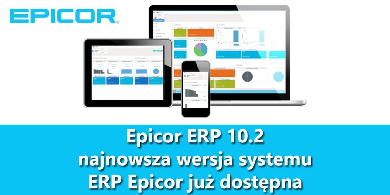 nowa wersja Epicor ERP