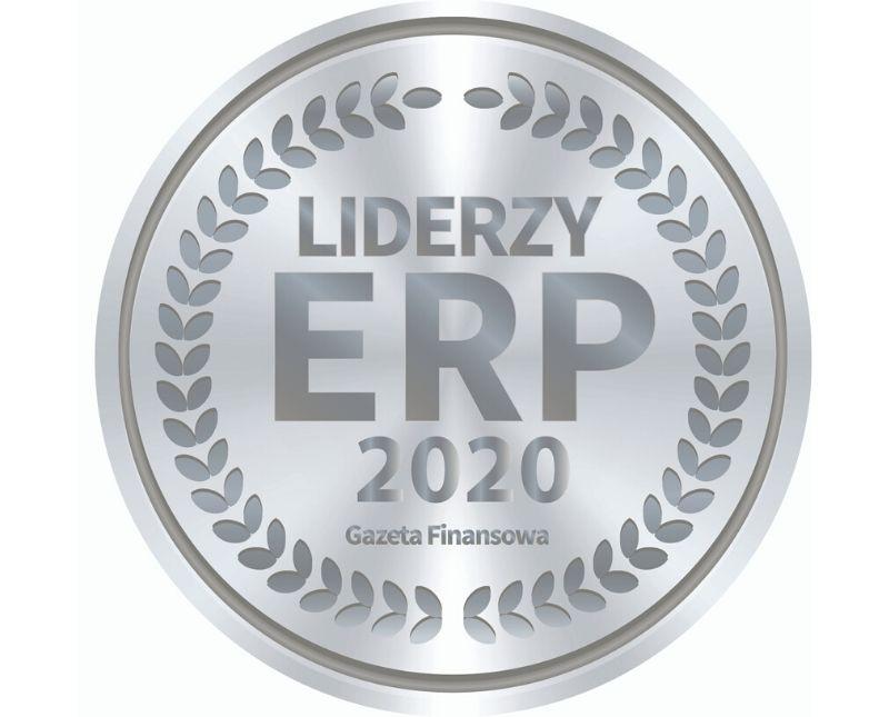DSR S.A. wyróżniona tytułem LIDER ERP 2020
