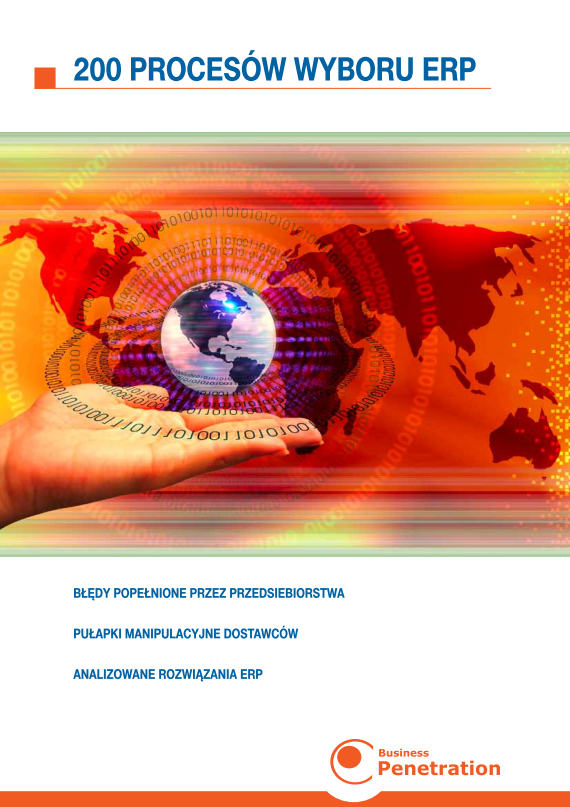 Raport BPC: 200 Procesów Wyboru ERP